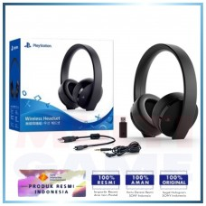New Playstation Gold Wireless Headset (BLACK) DOLBY 7.1 V2