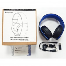 Playstation GOLD Wireless Headset (BLACK) DOLBY 7.1 (SONY Refurbish)