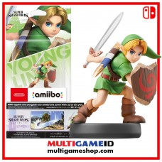 YOUNG LINK ZELDA Amiibo Super Smash Bros Series
