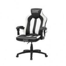 Brazen Stealth 2.0 Surround Sound Bluetooth PC Gaming Chair (Black/White)
