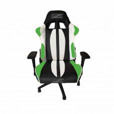 Brazen Sultan Elite PC Gaming Chair (Black/White/Green)