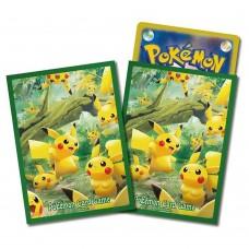 Pokemon Card Sleeve Pikachu No-mori (Japan)
