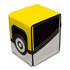 Pokemon Card Premium Leather & Magnetic Aclove Deck Box Yellow&Brown (UltraPro)