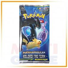 Pokemon TCG Indonesia Seri 5a Tag Team Booster Pack (4 kartu)