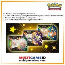 Pokemon TCG Shining Fates V Tin (Eldegoss / Cramorant / Boltund)