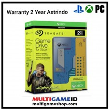 (Official) HDD Seagate 2TB Game Drive Cyberpunk 2077 Special Edition For Xbox PC & PS4 (Warranty)