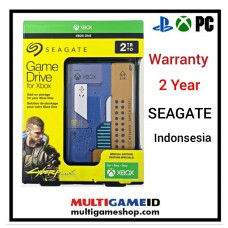 HDD Seagate 2TB Game Drive Cyberpunk 2077 Special Edition For Xbox PC & PS4 (Warranty)
