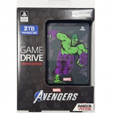 HDD Seagate 2TB Game Drive For PS4 Avengers Limited Edition (Hulk)
