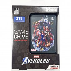 HDD Seagate 2TB Game Drive For PS4 Avengers Limited Edition (Avengers Group)