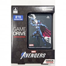 HDD Seagate 2TB Game Drive For PS4 Avengers Limited Edition (Thor)
