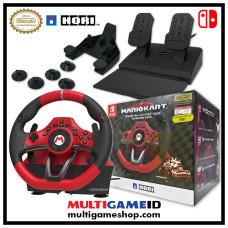 "Switch Mario Kart ""Premium"" Steering Wheel and Pedal (HORI)"