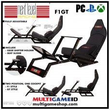 Next Level Racing F1 GT Cockpit + Steering Wheel Stand + Shifter Holder Bundle