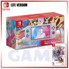 Nintendo Switch Lite Zacian&Zamazenta Sword&Shield Edition +Disgaea 4