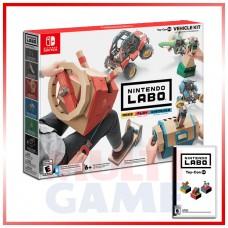 Nintendo LABO Vehicle Kit (Drive Kit) +Game (Toy-Con 03) A25