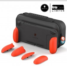 Switch Skull & Co MaxCarry Grip Case Neon Red