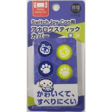 Switch Analog Thumb Grip Blue/Green Bear