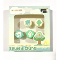 Switch V2/Lite Thumb Grip Forest Island Theme (GeekShare)