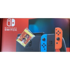 Switch Silicon Analog Joycon Mario/Blue