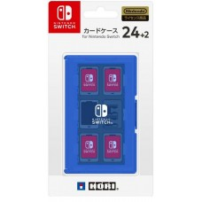 Switch Card Case 24 Blue (HORI)