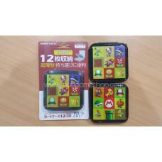 """Card Case 12 Gametech """"Mario Collection"""" Tipis   (M1616)"""
