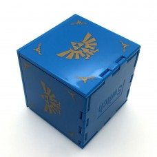 Card Case Box Zelda Blue  (M1616)