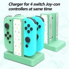 Switch 4pcs Joycon Charging Stand (Lucky Fox) Animal Crossing