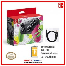 Switch PRO Controller Splatoon2 Edition (Original Nintendo)
