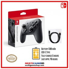 Switch PRO Controller Black (Original Nintendo)