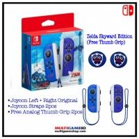 Switch Joycon Left+Right The Zelda Skyward Sword Edition +BONUS