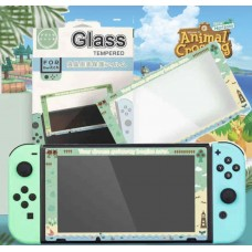 "9H Switch Tempered Screen Guard ""Animal Crossing"""