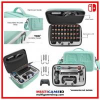 Switch Storage Case XXL Green (TomToc)