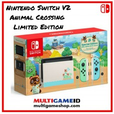 New V2 Nintendo Switch Animal Crossing Limited Edition