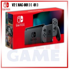 --PO-- New V2 Nintendo Switch Grey (HAC-001)(-01)