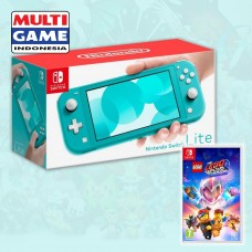 Nintendo Switch Lite Turquoise +Game Lego Movie2