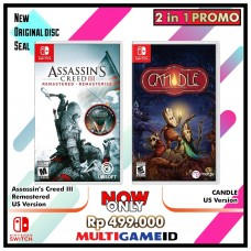 2in1 Assassin Creed 3 +Candle