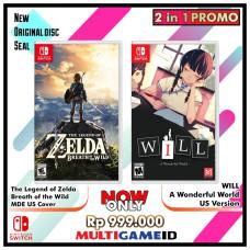 2in1 Zelda Breath of the Wild +Will Wonderful