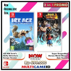 2in1 Ice Age +Super Dragonball Heroes World