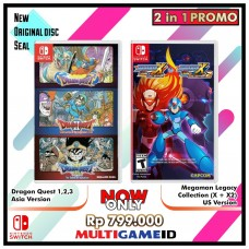 2in1 Dragon Quest 1.2.3 +Megaman Legacy Collection