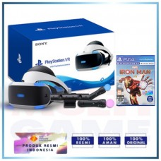Playstation VR V2 (CUH-ZVR-2) +Move +Game Iron Man