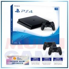 (Official) PS4 Slim 1TB Jet Black (2 DS4)