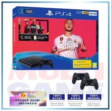 (11.11 PROMO)  PS4 Slim 500GB FIFA 20 Bundle 2 Controller DS4