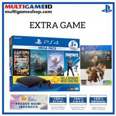 (Official) PS4 Slim 1TB Mega Pack #2 (4 Games + PSN) +Extra DS4 +PS4 Left Alive