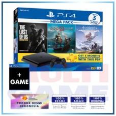 PS4 Slim 1TB Mega Pack #1 (3 GAME +PSN) + Game Destiny 2