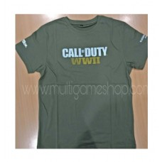 Call Of Duty COD WWII Green T-Shirt