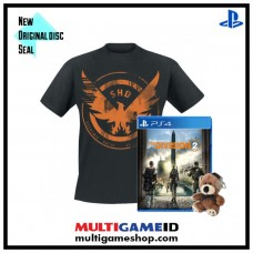 Tom Clancy's the Division 2 +Teddy Bear Keychain +TShirt Division