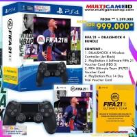 (Promo) FIFA 21 (Download Code) +DualShock4 Bundle