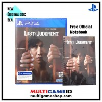 Lost Judgement + Official Notebook