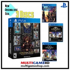 Kingdom Hearts All In One Package (3 Disc)
