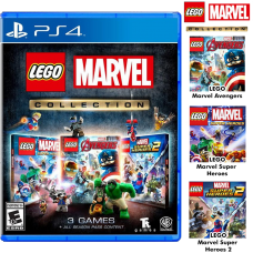 Lego Marvel Collection (Lego Marvel SH1 & 2, Lego Avenger) +All Season Pass