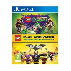 Lego DC Super Villians + The Lego Batman BlueRayDisc MOVIE (Double Pack)